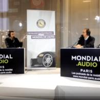 Mondial de l'auto 2018 : ITW de J. Pedessac au micro de 40 millions d'automobilistes